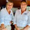 Jeanet Winkel en Janet Stam